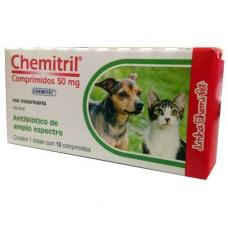 Chemitril 50MG 10 Comprimidos